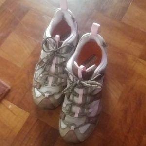 Women's Merrell Ortholite Continuum Hiking shoes.